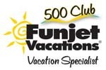 Awarded Funjet 500 with Funjet Vacations
